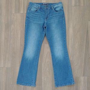 Levi's Womens 515 Bootcut Jeans Size 14 Regular
